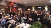 Il party in Galleria Cavour (foto Schicchi)