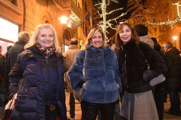 Rossella Barbaro con Eleonora Gazzotti e Lisetta Notari (FotoSchicchi)
