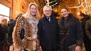 Tiziano Parenti con Benedetta Brusati ed Eugenia Rinaldi (FotoSchicchi)