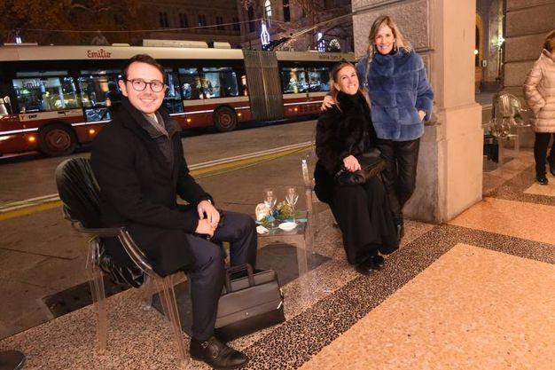 Samanta e Stefano De Ruvo con Rossella Barbaro (FotoSchicchi)