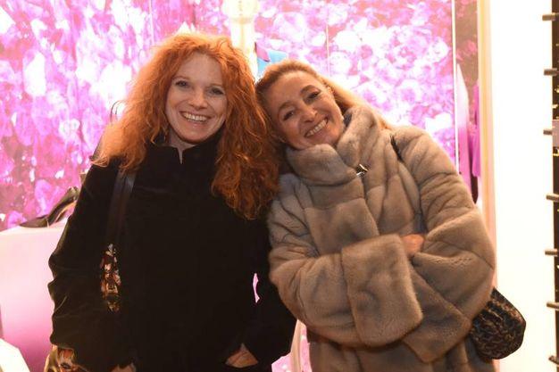 Maria Francesca Sassoli e Paola Sebellin (FotoSchicchi)