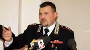 Il comandante dei  carabinieri di Cesano Maderno Mansueto Cosentino