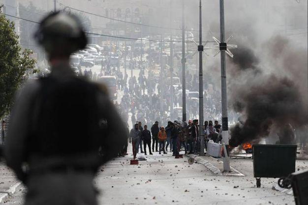 Scontri a Ramallah  (foto AFP)