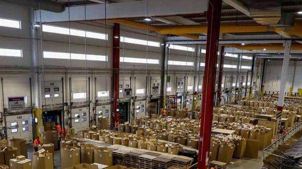 Amazon:ispettori lavoro in sede Piacenza
