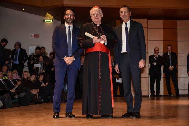 Grande Medaglia d'Oro al cardinale Angelo Scola