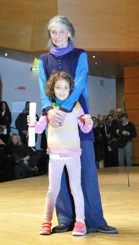 Medaglia d'Oro a Benedetta Barzini, ex modella