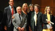 Attestato alla fondazione Scuola ebraica di Milano