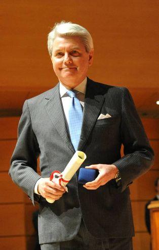 Medaglia d'Oro a Gian Riccardo Marini, amministratore delegato Rolex