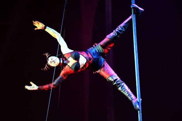 E' considerato lo spettacolo-rivelazione del Nouveau Cirque (FotoSchicchi)