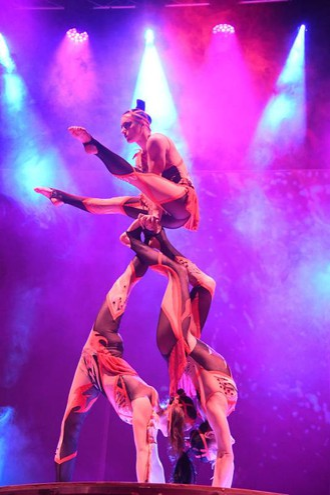 Lo show 'Alis Christmas Gala' (FotoSchicchi)