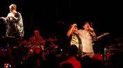 Elio e le Storie Tese, momenti del concerto al Vidia Club di Cesena (foto Ravaglia)