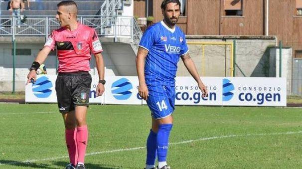 Matteo Guazzo, attaccante d'esperienza, sta per tornare ad indossare la maglia biancorossa