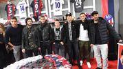 Masina, Poli, De Maio, Falletti, Pulgar, Criesetig e Taider (FotoSchicchi)