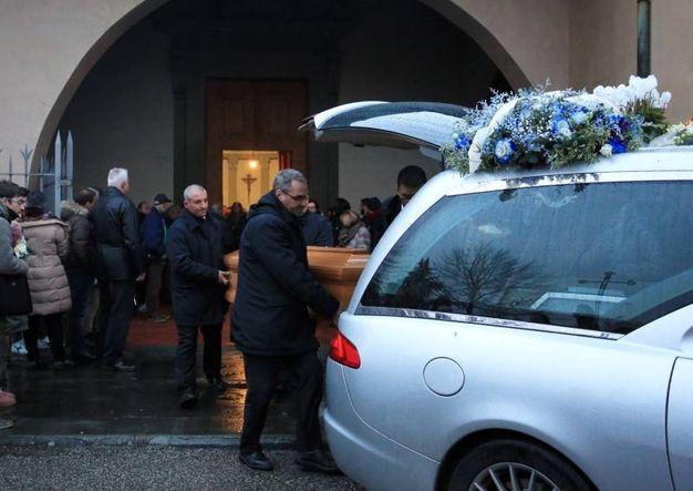 Lastra a Signa, il funerale di Marco Dolfi (Germogli)