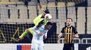 Rijeka Milan 2-0, gol di Mario Gavranovic (Afp)