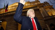 Dario Ballantini in versione Donald Trump (La Presse)