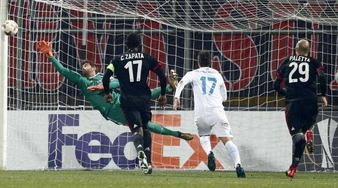 Milan sconfitto in Europa League