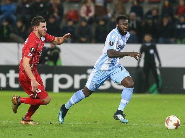 Zulte-Lazio 2-1, gol di Felipe Caicedo (Ansa)