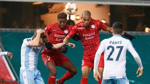 Europa League, Zulte-Lazio 3-2 (Afp)