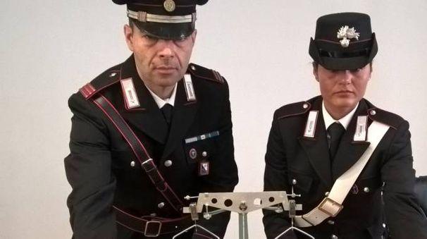 Carabinieri in servizio in una foto d'archivio