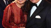 Il sovrintendente della Scala Alexander Pereira e la moglie Daniela Weisser De Sosa (Ansa)