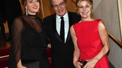 Margherita Buy (d), il regista Mario Martone e la moglie Ippolita Di Majo (ansa)