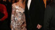 La chef Carlo Cracco con la moglie Rosa Fanti (Lapresse)