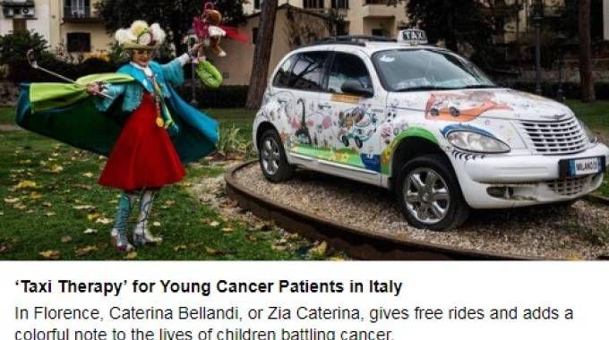 La storia del taxi di Zia Caterina è stata raccontata dal Ny Times