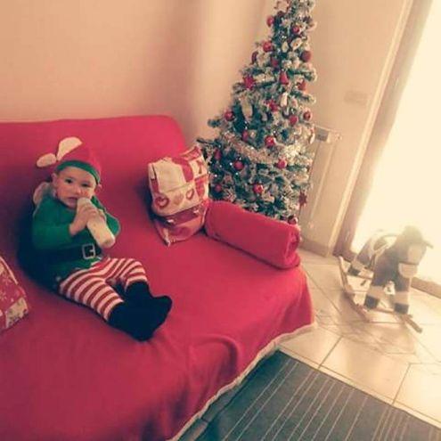 L'albero di Natale fotografato da Cristiana