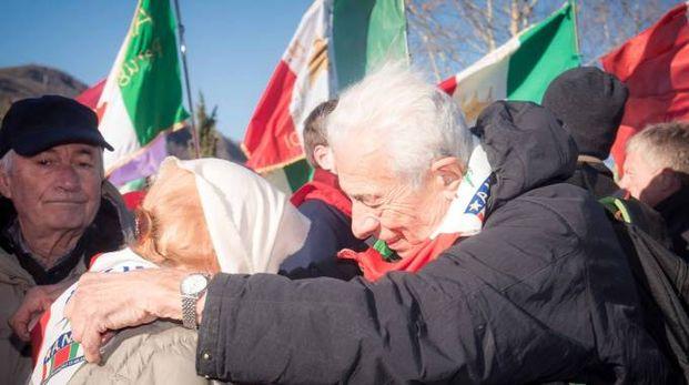Manifestazione antifascista (LaPresse)