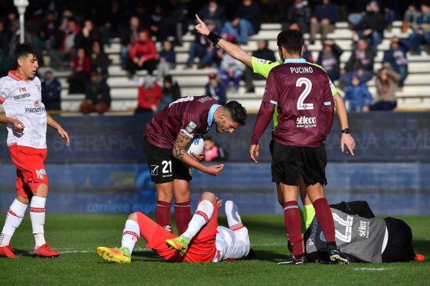 Salernitana-Perugia 1-1, le foto della partita (LaPresse)