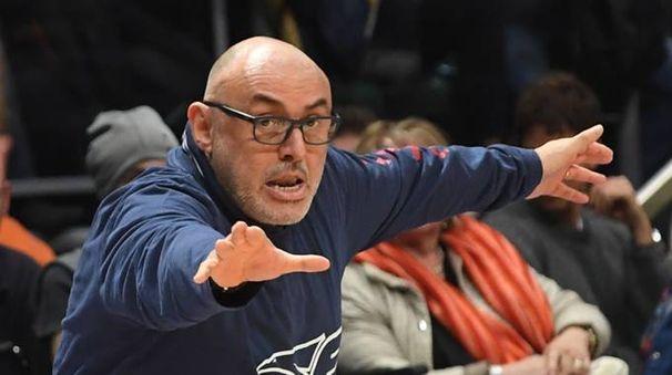 Boniciolli, coach Fortitudo (FotoSchicchi)