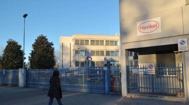 Lo stabilimento Henkel di Caleppio