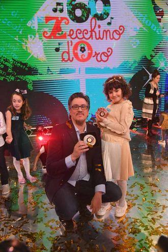 Zecchino d'Oro,  Sara Calamelli ha vinto con 'Una parola magica' (foto Schicchi)