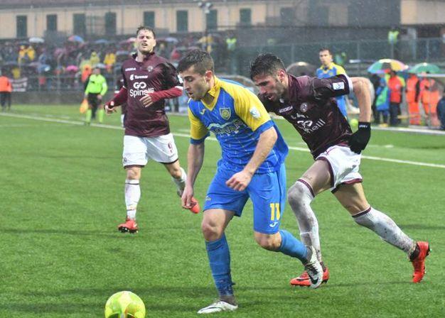 Carrarese-Livorno 2-3 (Foto Delia)