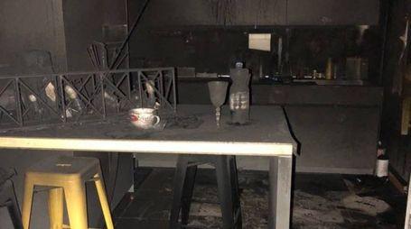 L'appartamento distrutto
