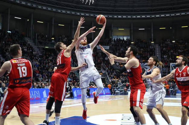 La Fortitudo ha battuto Forlì (foto Schicchi)