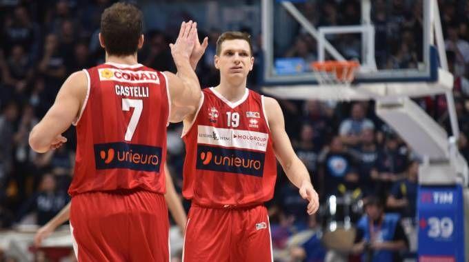 L'Unieuro perde di 2 punti a Bologna (foto Fantini)