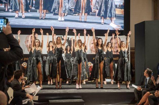 La selezione ufficiale di Miss Mondo Emilia Romagna (foto Schicchi)