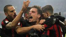 Milan-Bologna 2-1 grazie a una doppietta di Bonaventura (Newpress)