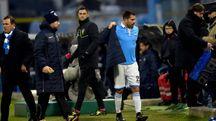 Marco Borriello al 20' del secondo tempo è stato sostituito con Sergio Floccari (Businesspress)