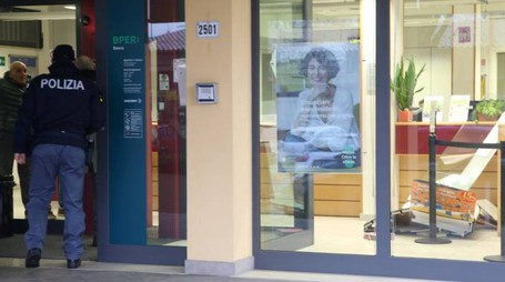 La filiale Bper Banca di Martorano (Foto Ravaglia)