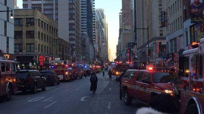 Caos a New York dopo l'attentato