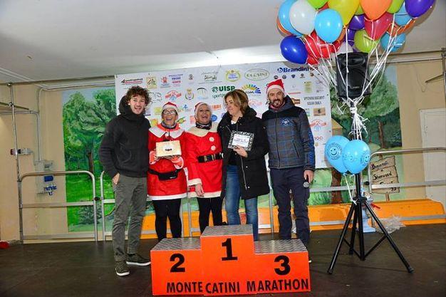 Corsa di Babbo Natale a Montecatini Terme (foto Regalami un sorriso onlus)