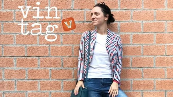Francesca Tonelli, 35 anni, fondatrice dell'app Vintag
