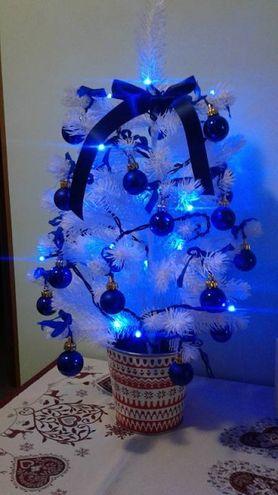 L'albero di Andrea Filippini da Calenzano, realizzato con la figlia Alessia