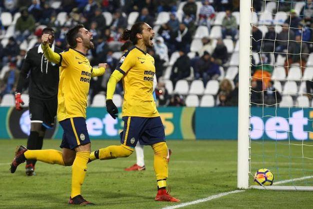 Spal-Verona 0-2, Caceres (Ansa)