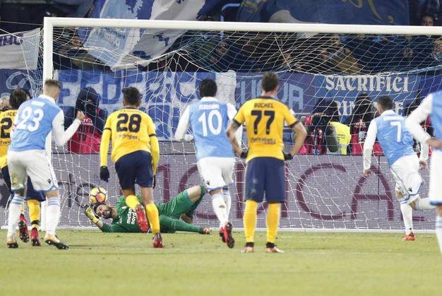 Spal-Verona 1-2, Antenucci (Ansa)