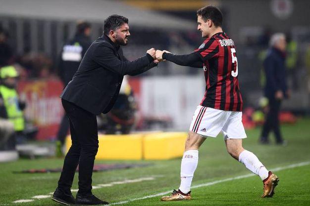 Milan-Bologna 1-0, Bonaventura (Afp)