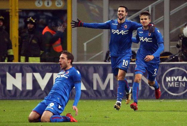 Milan-Bologna 1-1, Simone Verdi (Ansa)
